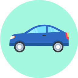 car_flatcircle_icon